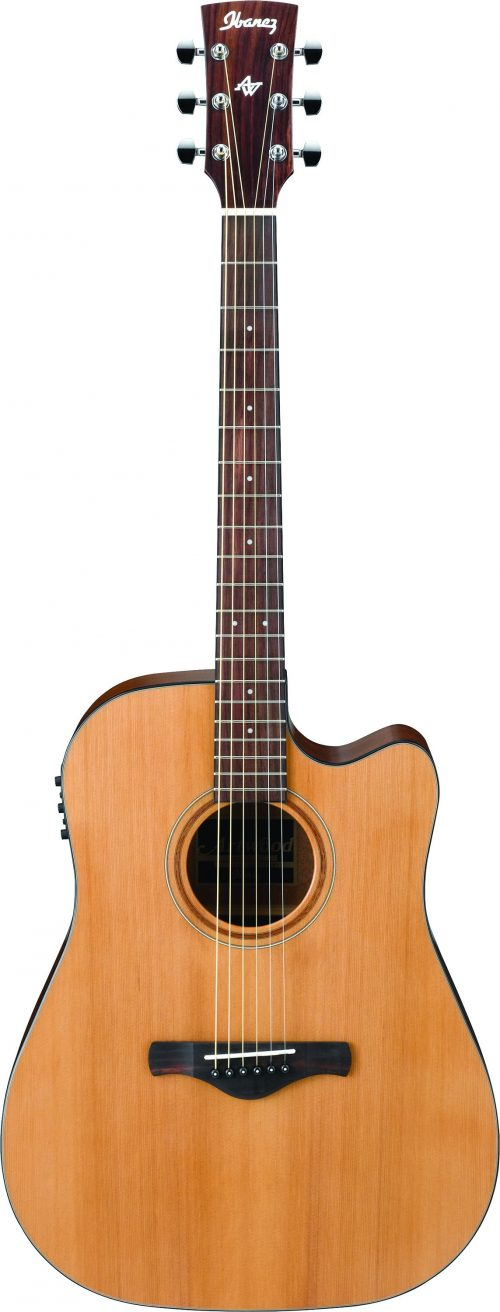 Ibanez AW65ECE-LG Electric Acoustic Guitar