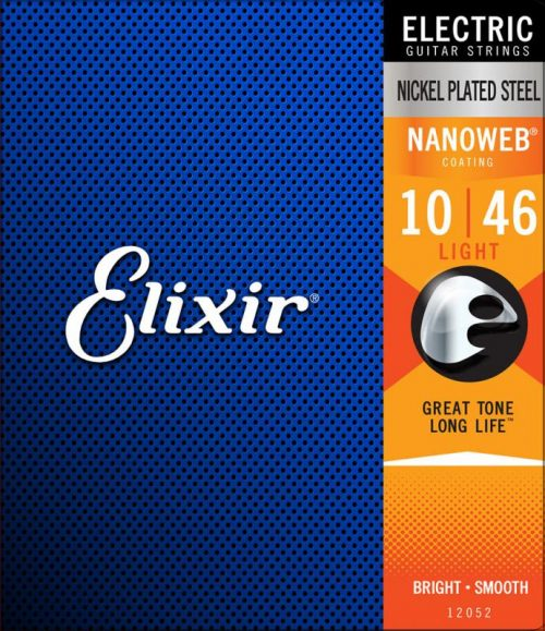 Elixir Electric Nickel Plated Steel with NANOWEB Coating 10/46