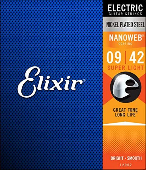 Elixir Electric Nickel Plated Steel with NANOWEB Coating 09/42