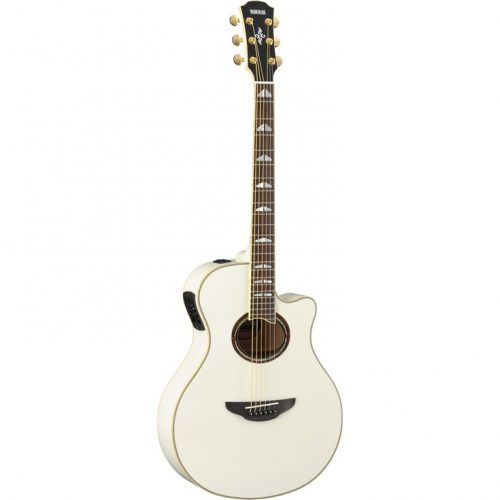 Yamaha APX1000PW Performance Acoustic Guitar Pearl White