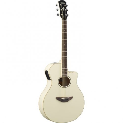 Yamaha APX600VW Acoustic Guitar Vintage White