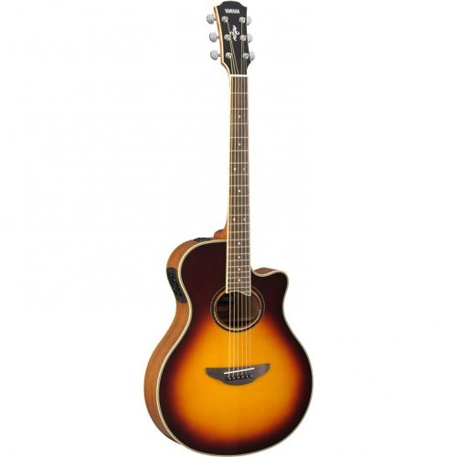 Yamaha APX700IIBS Performance Acoustic Guitar Brown Sunburst