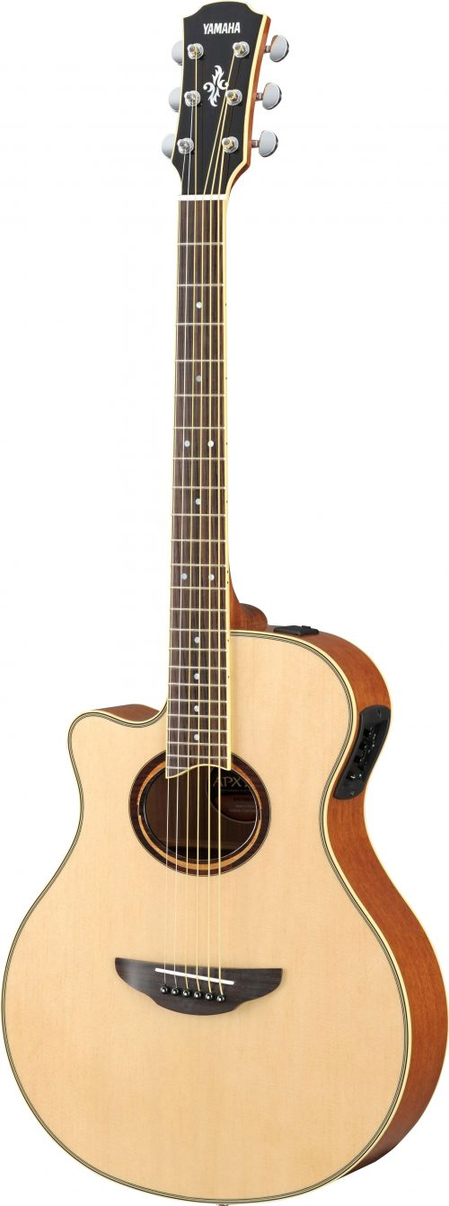 Yamaha APX700IILNT Performance Acoustic Guitar Left-Handed Natural