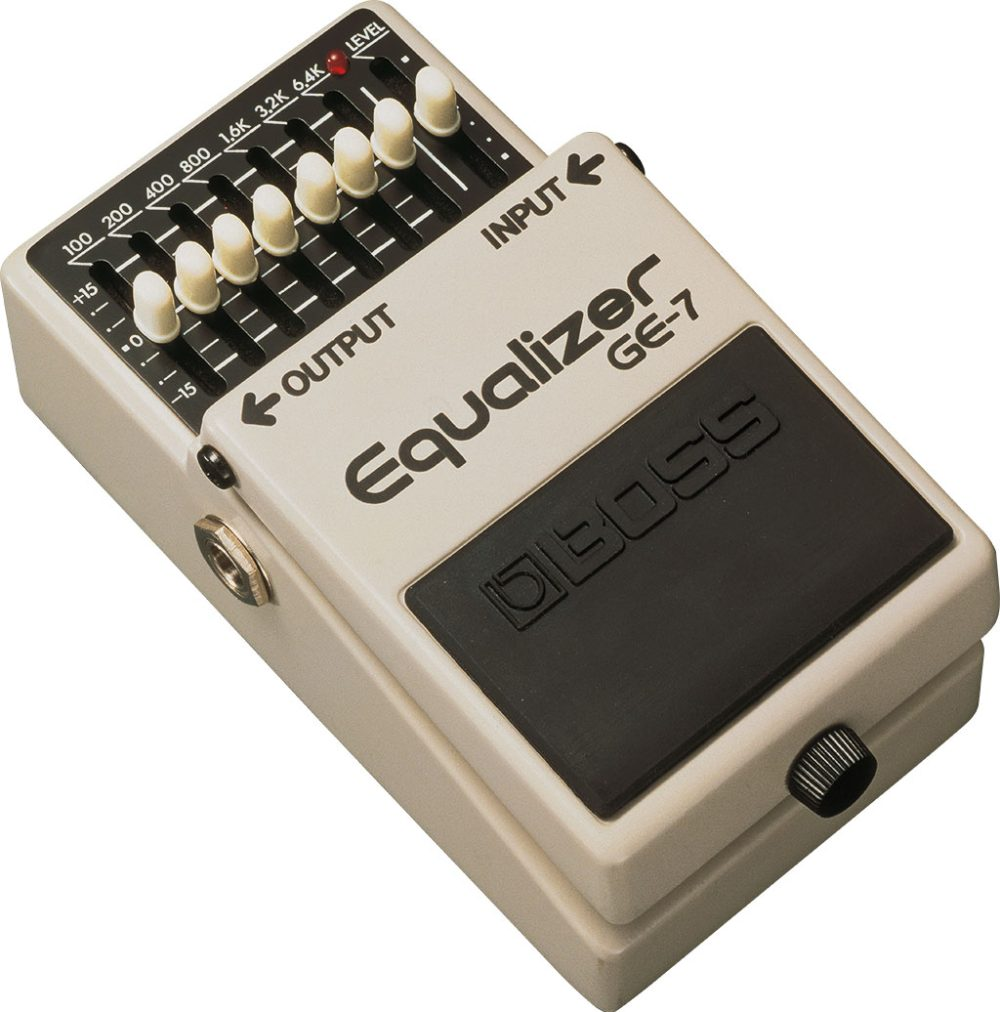 Boss GE-& Graphic Equalizer Pedal