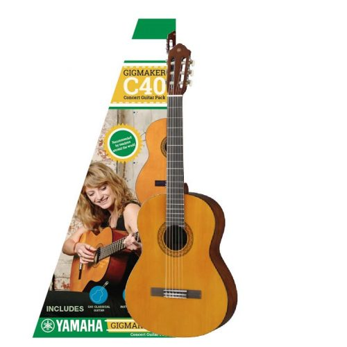 Yamaha C40 Acoustic Guitar Pack