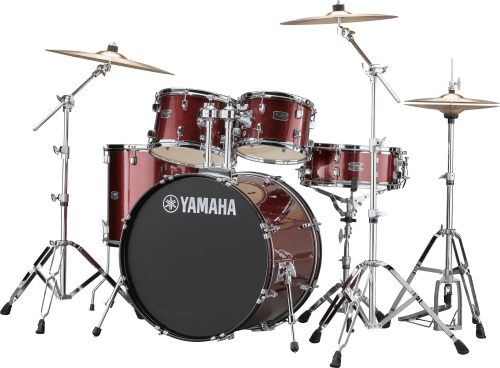 Yamaha Rydeen 5pc Euro Drum Kit- Burgundy Glitter