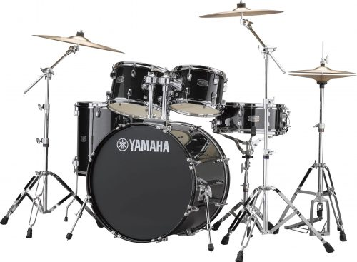 Yamaha Rydeen 5pc Euro Drum Kit- Black Glitter