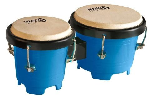 Mano Percussion Tunable Mini Bongos - Blue