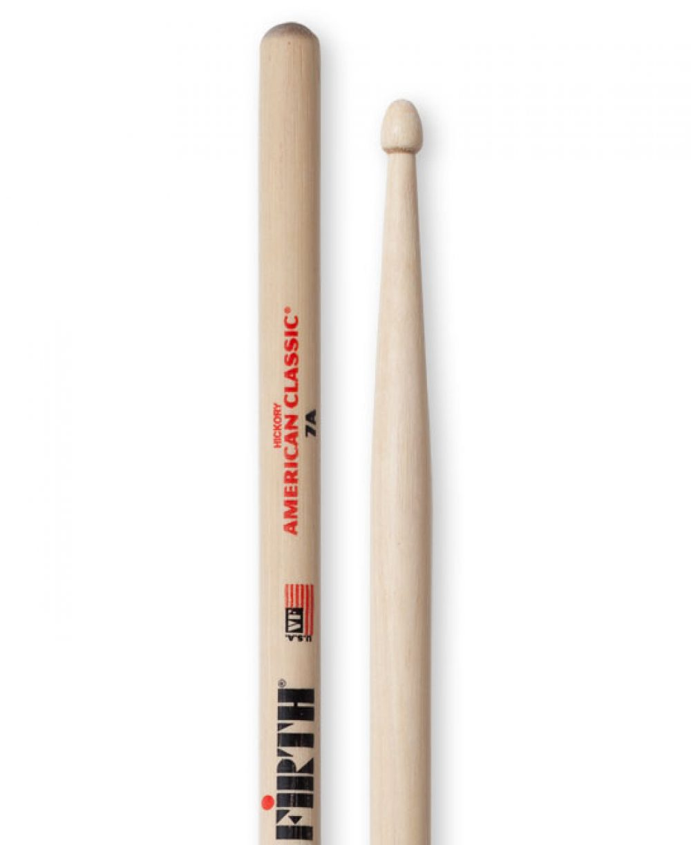 Vic Firth American Classic 7A Wood Tip Drumsticks