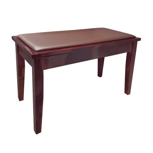 FS-102 Duet Piano Stool with Storage - Mahogany