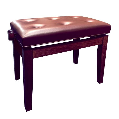 FS-201 Adjustable Piano Stool - Mahogany