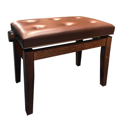 FS-201 Adjustable Piano Stool - Walnut