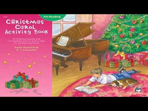 Christmas Carol Activity Book Pre Reading