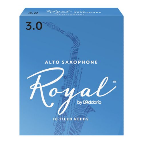 Royal By D'Addario Alto Saxophone Reeds 3 Pack, Size 1.5
