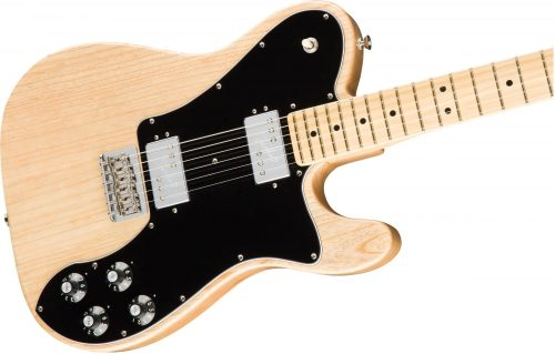 Fender American Pro Telecaster Deluxe Shawbucker MN Natural Ash