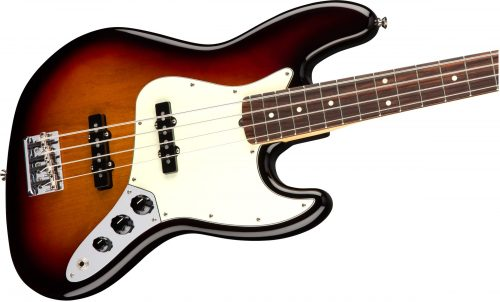 Fender American Prol P-Bass RW 3-Colour Sunburst