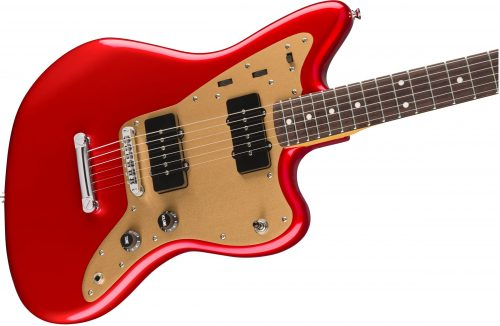 Squier Deluxe Jazzmaster RW Candy Apple Red