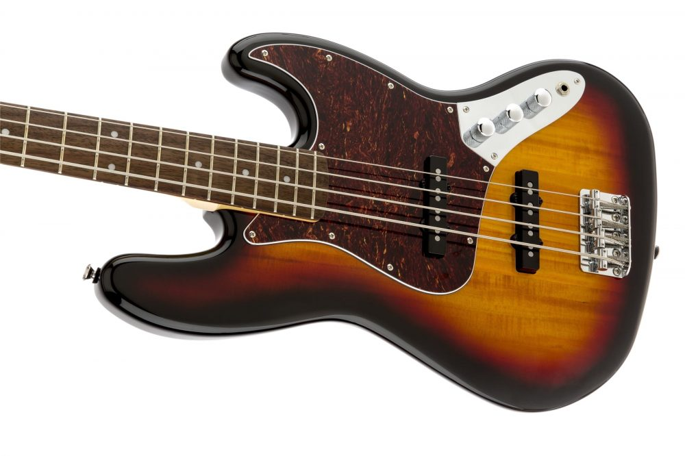 Squier Vintage Modified Jazz Bass 3-Colour Sunburst