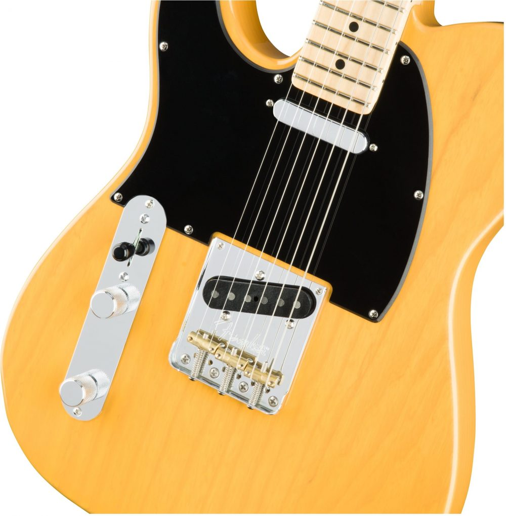 Fender American Pro Telecaster LH MN Butterscotch Blonde Ash