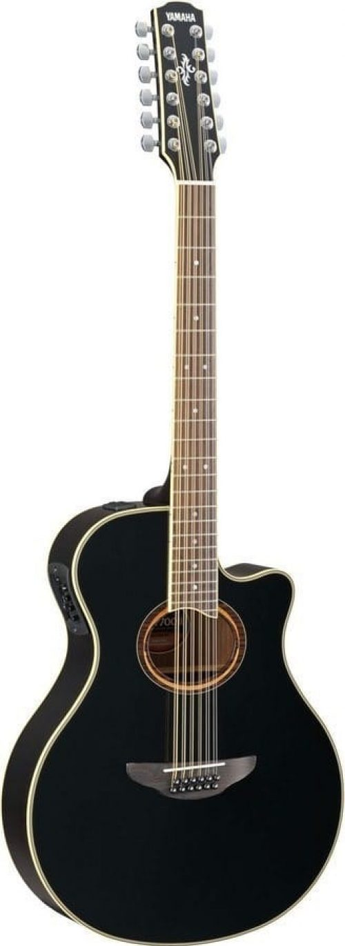Yamaha APX700IIBL12 Performance Acoustic Guitar Black
