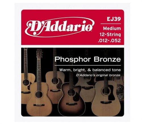 Acoustic Guitar 12 String Set 12/52 Phosphor Bronze