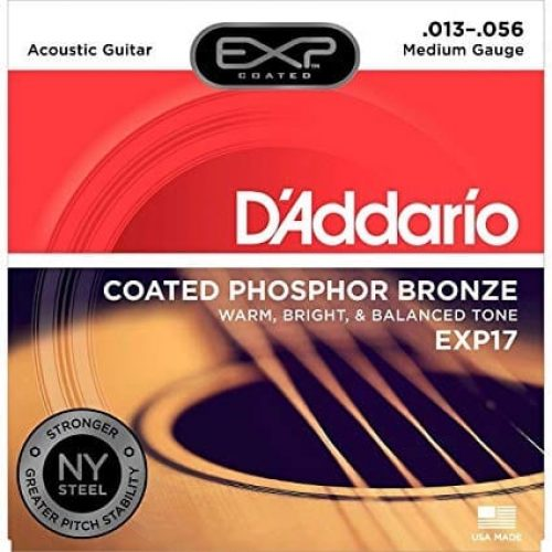 D'addario EXP17 Acoustic Guitar Set 13/56 Coated Phosphor Bronze