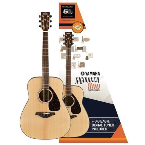 Yamaha Gigmaker 800 Acoustic Guitar Pack