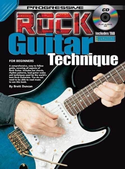 Progressive Rock Guitar Technique for Beginners (CD Included)