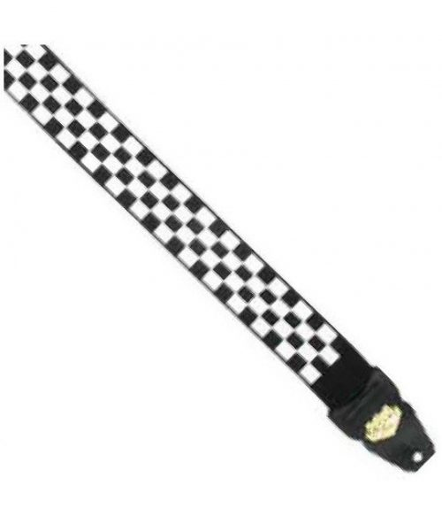 "LM Products 2"" Guitar Strap Checkered Design"