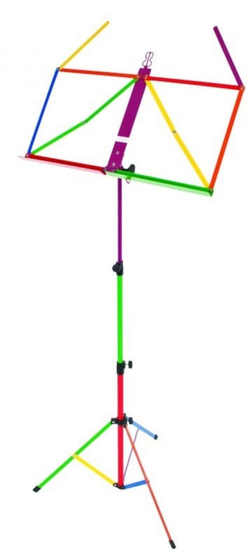 XTREME Harlequin Design Rainbow Fold Up Music Stand