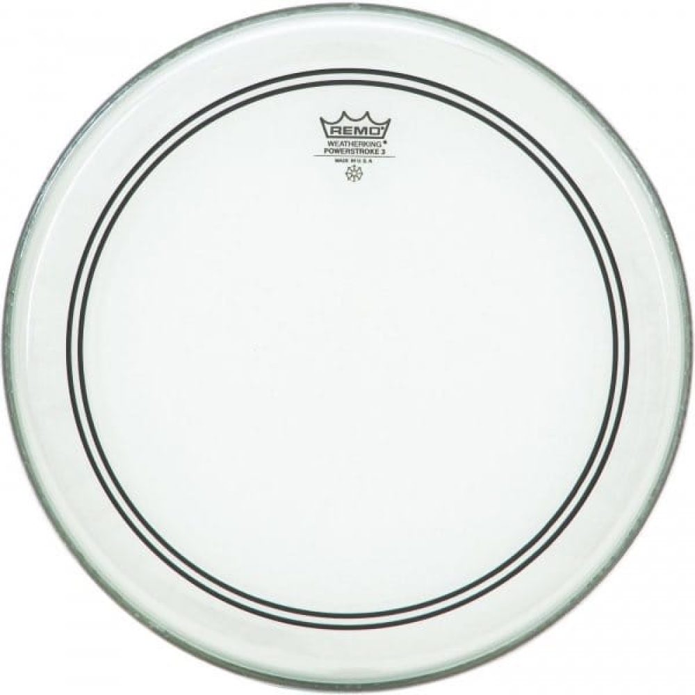 "Remo 12/"" Powerstroke 3 Clear Drum Head P3-0312-BP"