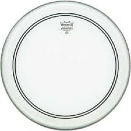 Remo Powerstroke 3 24 Inch Clear Bass Drum Head Including Falam