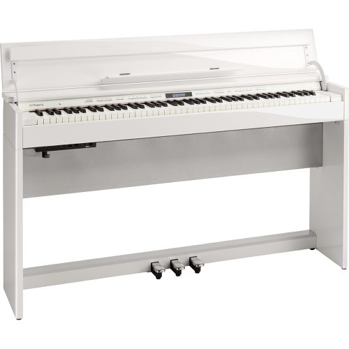 DP603 Roland Digital Piano w/bench Polished White