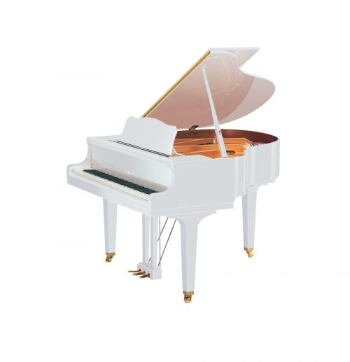 GB1K Yamaha Grand Piano Polished White