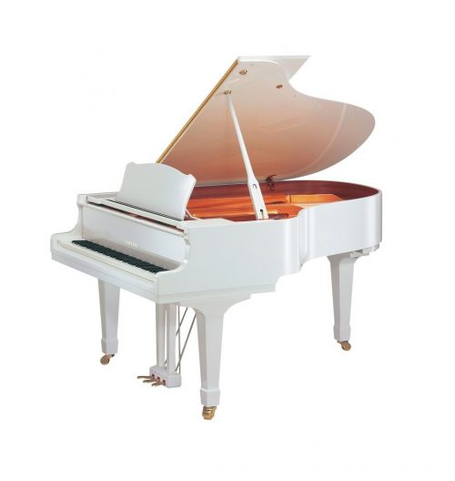 GC1M Yamaha Grand Piano Polished White