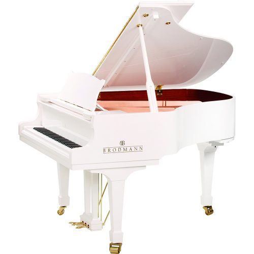Brodmann PE-162 Grand Piano Polished White