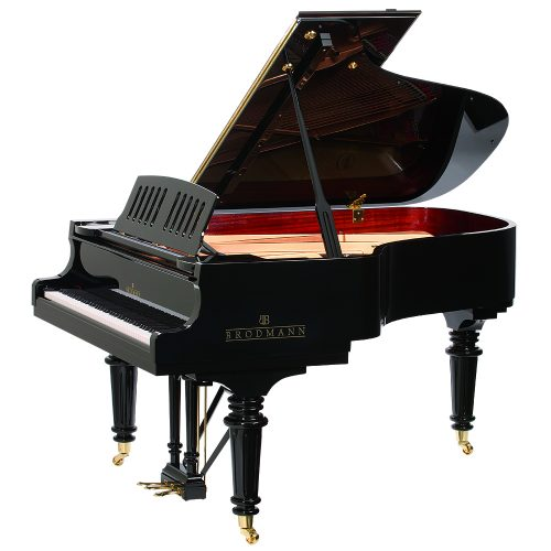 Brodmann PE-187 Grand Piano Polished Ebony